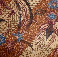 Detail of a 'pagi-sore' batik kain, north Java, c.1920