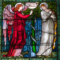 Burne-Jone stained glass window, Castle Howard
