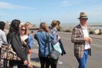 Young People in Ramsgate with Bob and Roberta Smith, Creative Project 2015