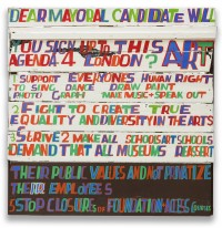 Bob and Roberta Smith: Dear Mayoral Candidate