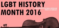 LGBT History Month 2016