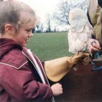 Child meets owl