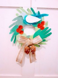 Jolly Holly wreath