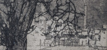 Detail from The Tree, Hammersmith, 1903