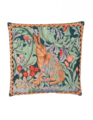 Tapestry Hare Cushion