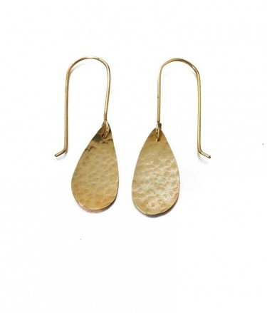 Just Trade raindrop earrings