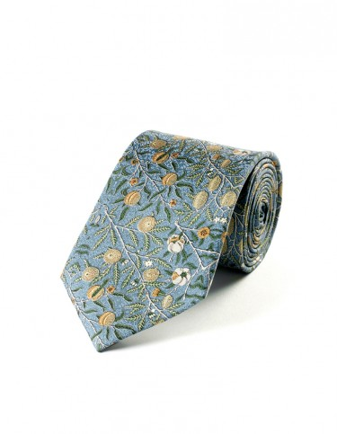 Fruit Pattern Tie (blue)