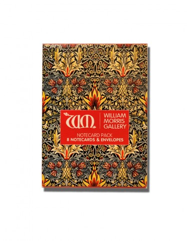 Pack of notecards decorated with William Morris designs