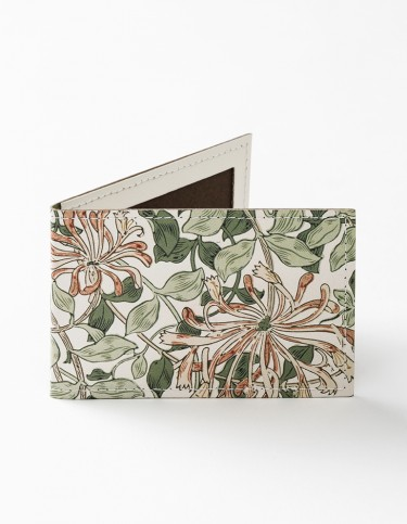 Honeysuckle Leather Travel Card Holder