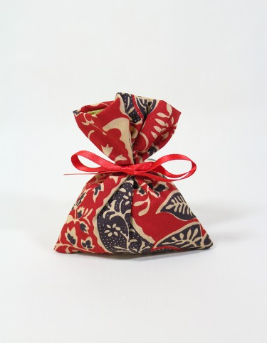 Indian (red) Scented Lavender Bag