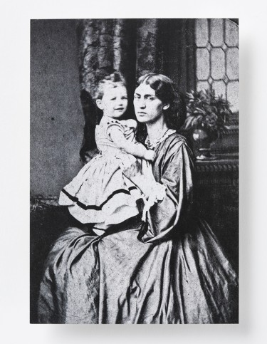 Jane Morris and Baby May Photo Postcard