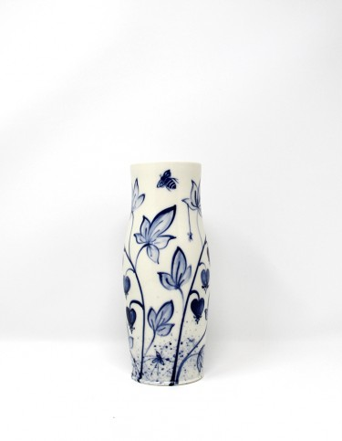 Mia Sarosi - Bleeding Heart Vase (medium)