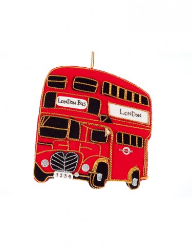 Felt London Bus Decoration