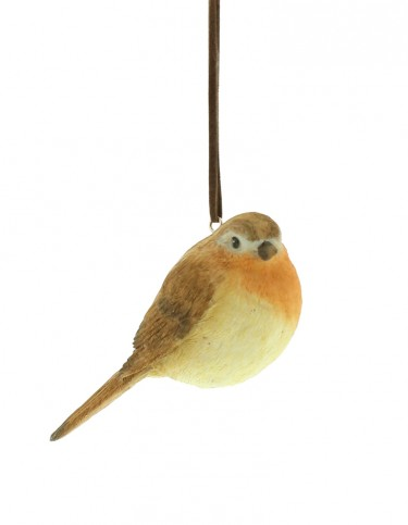 Robin Resin Decoration
