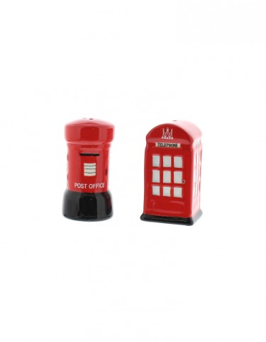 London Telephone and Post Box Salt and Pepper Set