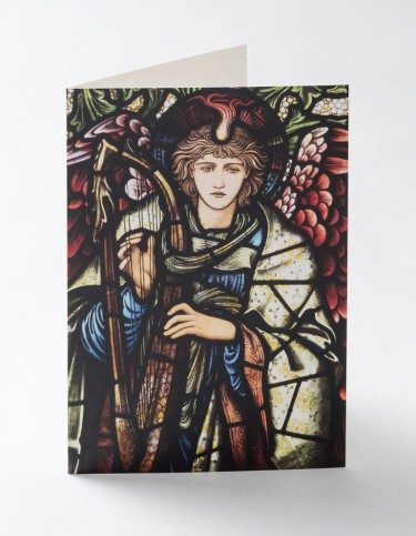 Praising Angel Christmas card
