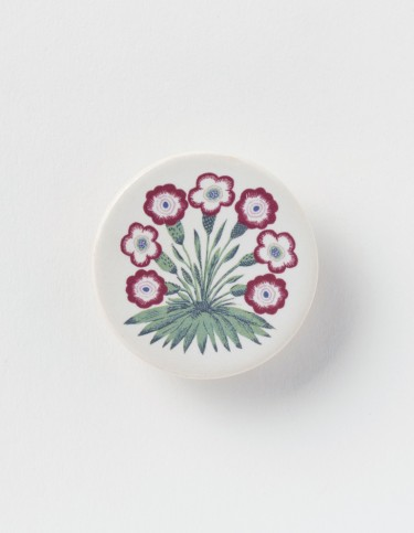 Red Birtwell brooch