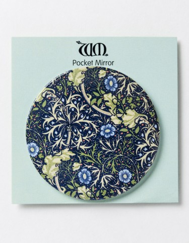 Seaweed pocket mirror
