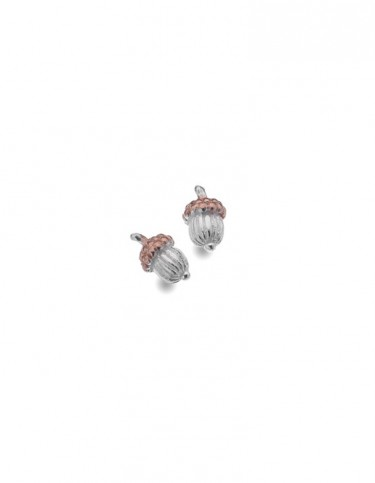 Sea Gems - Autumn Acorn Stud Earrings