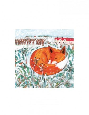 Village Fox Set of 8 Cards