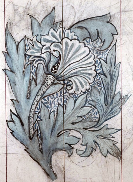 Tulip design (detail)