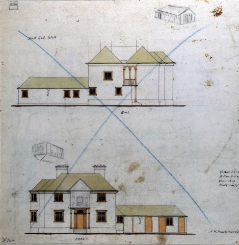 Architectural drawing of Bradwell-on-Sea Village Hall