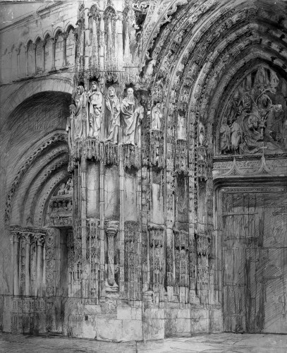 West Porch of Rouen Cathedral