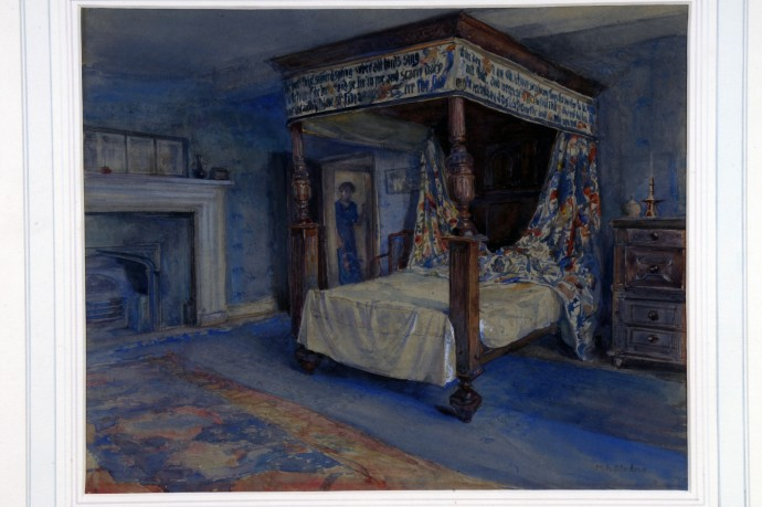 Collection Search The Collection William Morris S Bedroom At Kelmscott Manor William Morris Gallery