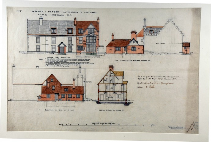A1340 Design for Alterations, Rycoate, Oxfordshire