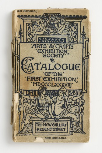 K1027 Arts and Crafts Exhibition Catalogue