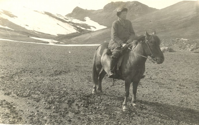 collection search the collection may morris on a pony in iceland